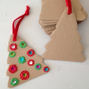 4 Arboles Navidad Craft