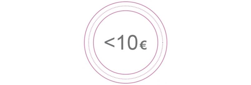 Menos de 10 Euros